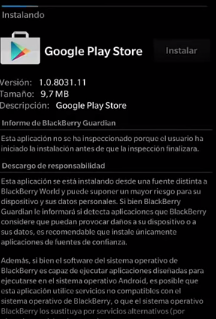 Download Play Store For Blackberry